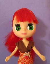 Hasbro Littlest Pet Shop LPS BLYTHE DOLL Red hair Autumn Dress