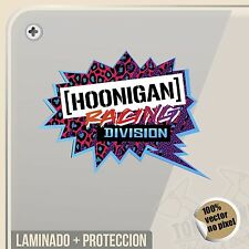 PEGATINA HOONIGAN RACING KEN BLOCK DECAL VINILO VINYL STICKER DECAL ADESIVI