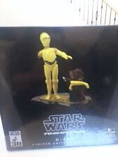 Star Wars C3PO & Jawa Animated Maquette  C3P0
