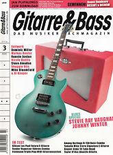 """Das Musiker Magazin """" Gittare und Bass """" Ausgabe März 2014"""