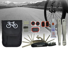 New Bicycle Repair Multi Tools Kit Set Mountain Bike Cycle Puncture Tyre Valve