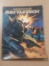 Introduction to Battletech     fasa