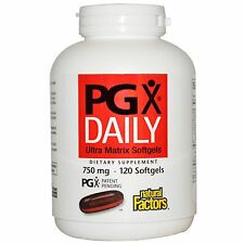 Natural Factors PGX Daily 750 mg - 120 Softgels WEIGHT LOSS Appetite Control