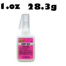 ZAP CA Larger 1oz PT08 (Thin) Quick Set Superglue Cyanoacrylate Glue