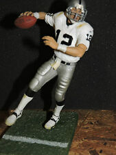 "RICH GANNON, RAIDERS, WHITE JERSEY, LOOSE FIGURE,  6"" McFARLANE  NFL"