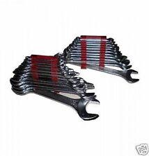 Serie di chiavi 24 Pz. combinate e fisse da mm. 6 a mm. 32 Carbon Steel