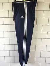 MENS NAVY BLUE VINTAGE ADIDAS SHELLSUIT TRACKSUIT BOTTOMS JOGGERS SWEATPANTS