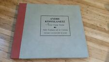 Andre Kostelanetz Musical Comedy Favorites record Set Old 78s Columbia M-430