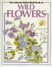 Wild Flowers Usborne Nature Trail Book 1992 Illustrated