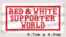 SUPPORT 81 KENT HELLS ANGELS ENGLAND Large Glossy World Sticker BIG RED MACHINE