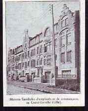 1931  --  LE CROISE LAROCHE  MAISONS FAMILIALES  D838