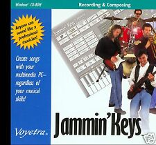 JAMMIN' KEYS  -  CREATE SONGS WITH YOUR PC-REGARDLESS OF YOUR MUSICAL SKILLS!