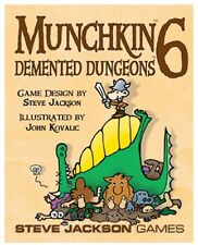 Munchkin 6: Demented Dungeons Card Game Expansion From Steve Jackson Games