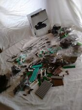 Call of Duty Mega Bloks Battle Tank & Nuketown Lot Bricks Only No Soldiers