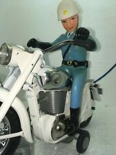 Vintage Bandai Police Auto Cycle 1960's B/O with box Not Working