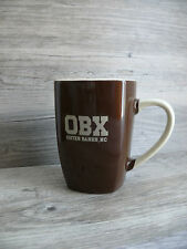 OBX Outer Banks North Carolina Coffee Mug Brown Tones 16 ounces Beach Towns NC