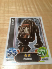 STAR WARS Force Awakens - Force Attax Trading Card #053 R2-Q5