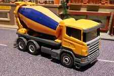 Siku 1896 - Scania Construction Cement Mixer Truck 1:87 Diecast - H0 Scale 1:87