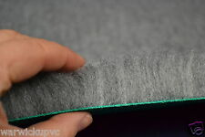 "Grey 36"" x 24"" Pre Cut Vet Bed Fleece to suit Deluxe Whelping Box Puppy Dog"