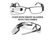 VUZIX M100 SMART GLASSES (WHITE) WITH EXTRA FRAMES IOS ANDROID