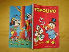 WALT DISNEY TOPOLINO LIBRETTO NUMERO 257 CON PUNTI DEL  CLUB 30 OTTOBRE 1960