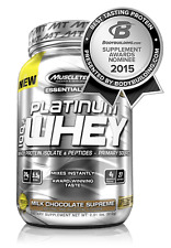 MuscleTech Platinum 100% Whey Protein Milk Chocolate Supreme 2lbs Free Shipping