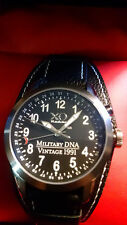 Mens XO RETRO M1 Abrams Tank Vintage Iraq 1991 Military DNA Day Date Watch