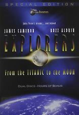 Explorers: From the Titanic to the Moon (James Cameron, Buzz Aldrin)