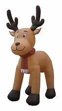 15 FOOT Christmas Inflatable Reindeer Moose Outdoor Garden Decoration Balloon