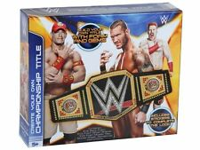 MAKE YOUR OWN WWE CHAMPIONSHIP WRESTLING TITLE BELT TOY 65-6704/S15