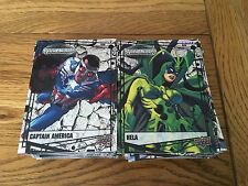 2015 Upper Deck Marvel Vibranium 270 Card Master Set (Includes RawSet) Binder