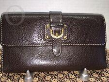 *Vintage*DOONEY & BOURKE*Brown Checkbook Wallet 16256M