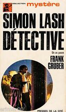 Simon LASH détective / Un as passe // Frank GRUBER // Collection Mystère // 1 Ed