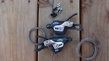 Shimano XTR SL-M980B I-Spec (2/3x10) Dyna Sys MTB Bike Shifter Pods/Levers Pair