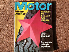 MOTOR Magazine (New Jags, Colt GLX road test, Volvo) MARCH 31 1979 (VGC)