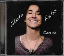 """ALBERTO FORTIS - CD CON AUTOGRAFO """" CON TE """""""