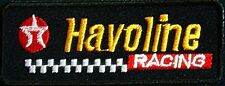 Texaco Havoline Racing iron on/sew on cloth patch  (tg)