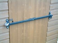 Metal Shed/garage door/barn door or caravan door security bar 1400mm