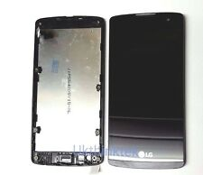 LCD Digitizer Touch Screen Display + Frame Black LG Leon H320 H340 H340F LTE 4G