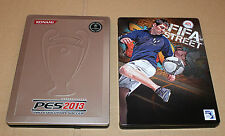 Pro Evolution Soccer 2013 PES & FIFA Street 4 Steelbook  No Game Included