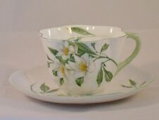 Shelley Cup and Saucer Syringa Pattern Dainty Shape