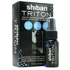 SHIBARI TRITON MEN'S PREMATURE EJACULATION DELAY SPRAY 1 OZ.