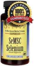 SeMSC Selenium 200 mcg x 120 Capsules Swanson