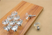 Crystal Diamond Bathroom Large Drawer Cabinet Wardrobe Door Knob Handle 30mm IKy