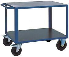 Tischwagen mit 2 Etagen, 2 Ladeflächen: 1200x800 mm, Tragkraft 500 kg