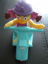 McDonalds Toys 1992 BIRDIE THE EARLY BIRD IN SCOOTER VEHICLE LOOSE