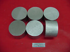 "6 Pieces 2-3/8"" ALUMINUM 6061 ROUND ROD BAR 2"" long Solid Lathe Stock 2.375"""