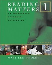 Reading Matters Ser.: Reading Matters No. 1 : An Interactive Approach to...