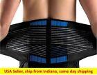 Neoprene Deluxe Belt S~4XL Double Pull Lumbar Lower Back Support Brace