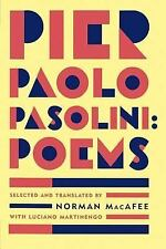Poems by Pier Paolo Pasolini (1996, Paperback)